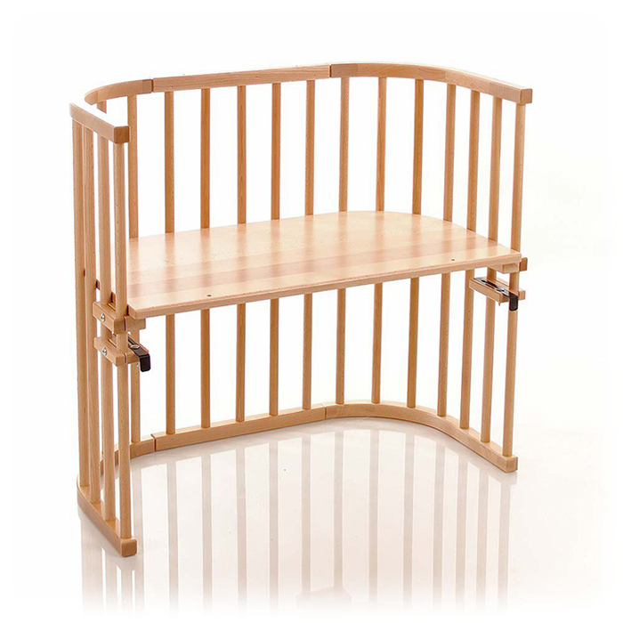 BC10 Wooden Baby Sleeper Bed Attached to Parents' Bed