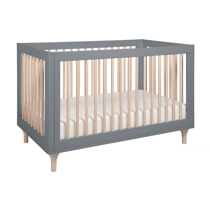 BC12 3in1 Wooden Convertible Crib Baby Bed