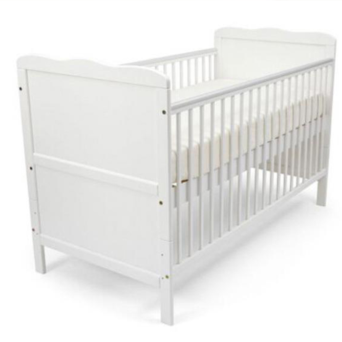 BC07 2in1 wooden baby bed nursery furniture baby crib