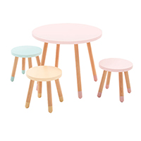 KT02 Modern Colorful Kids Playtable and Stool Chair set