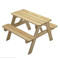 KT04 Cheap Price solid wood kids picnic table